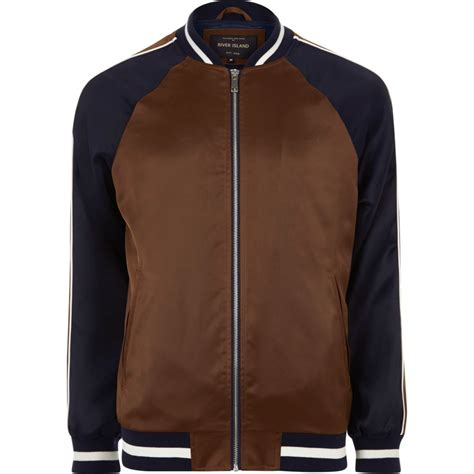 two tone lights brown two tone light bomber jacket coats jackets