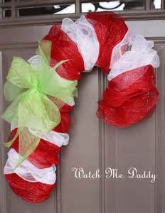 How to make a deco mesh candy cane wreath future car release 2016