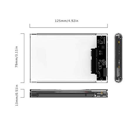 Orico 2139u3 Casing Harddisk Transparant 2 5 Inch Hardisk Sata Usb 3 0 1 orico 2139u3 cr usb3 0 transparent external disk box storage for 9 5mm 2 5 inch sata