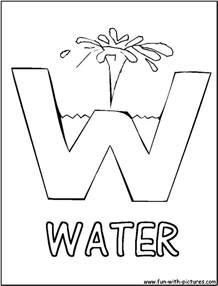 water coloring book day of water coloring pages