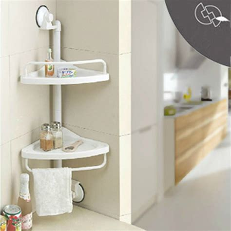 Plastic Bathroom Shelf by Aliexpress Buy Corner Shelf Rack Wall Kitchen
