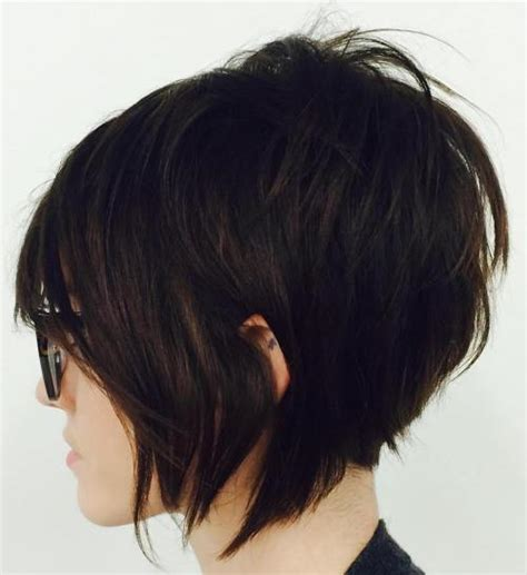 shagy short with silver highlights haistyles 50 short shag hairstyles that you simply can t miss