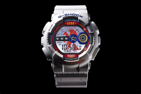 Gd 100 Gundam casio releases gundam 35th anniversary g shock gd 100 refined