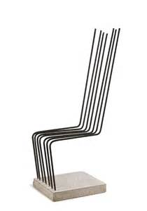 concrete rebar chair by heinz h landes chairblog eu