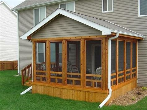 screen porch plans do it yourself back porch for manufactured homes designs house design