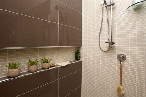 metricon tile studio shower recess idea decor design