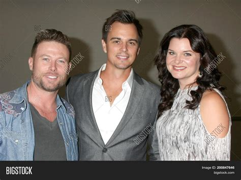 The Bold And Beautiful Fan Event | los angeles aug 20 jacob young image photo bigstock
