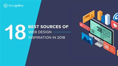 best design inspiration 18 best sources of web design inspiration in 2018 top