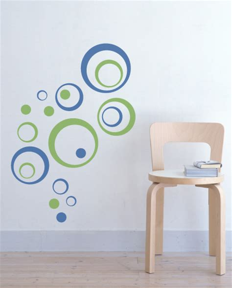 wall stickers circles bubbly circles vinyl wall decal home accents graphical