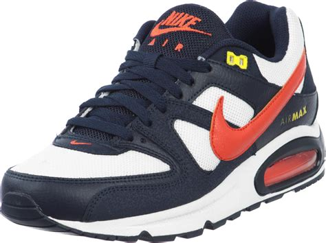 Air Max Command by Nike Air Max Command Shoes White Blue Orange