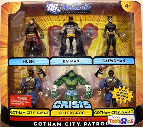 killer croc toys r us gotham city patrol 6 pack