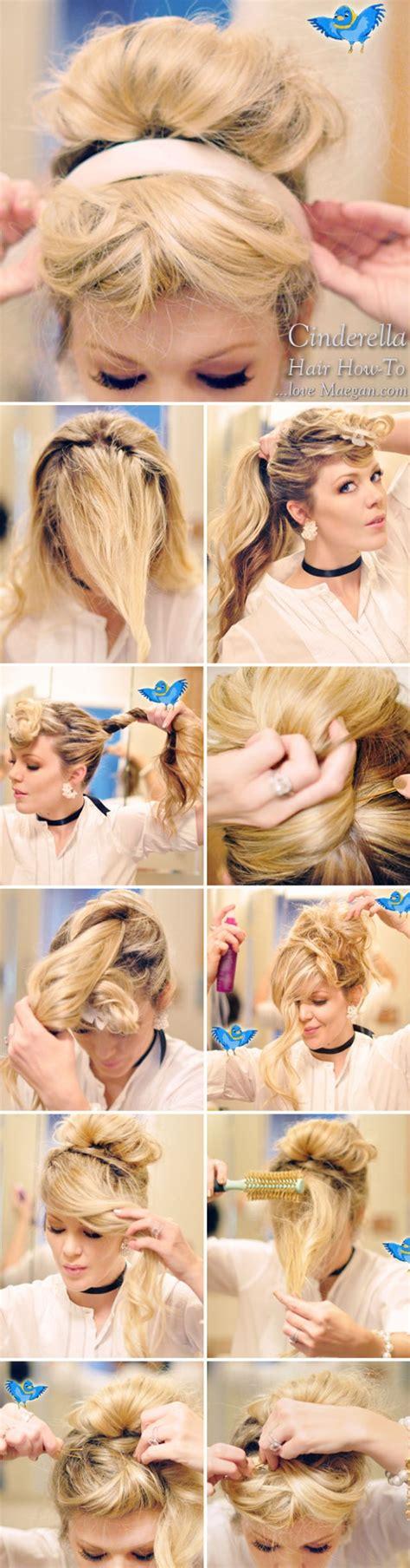 hair and makeup tutorials how to cinderella hair makeup photo tutorial love