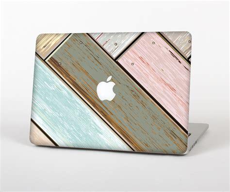 Skin Apple Macbook Wood Pattern 07 the raised colorful geometric pattern v6 skin set for the apple macboo design skinz