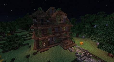 haunted house in minecraft haunted house minecraft minecraft project