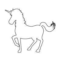 free printable unicorn stencils unicorn stencil