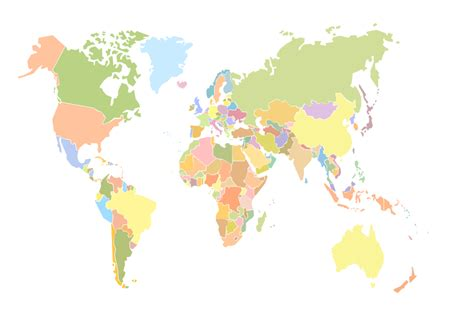 simple world map image geo map world world continents map geo mapping