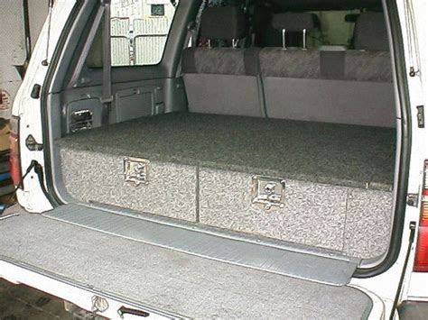 4wd Drawer Systems Plans by 4wd Systems Cargo Drawers Australian 4wd Forum