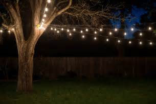 string lights in backyard outdoor string lights house ideals