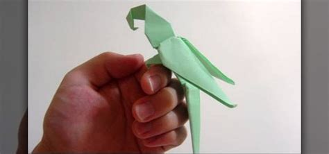 Origami Macaw Parrot - how to fold an advanced origami macaw parrot 171 origami