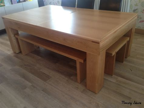 oak table with bench solid oak pool table and converting pool dining table from