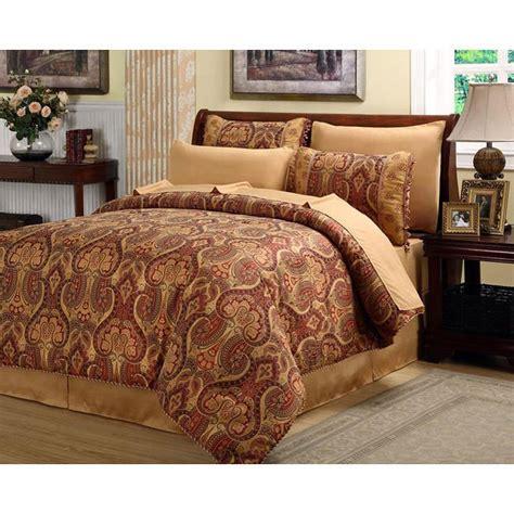 elegant comforter sets queen beautiful rich elegant red gold comforter set 8 pc cal