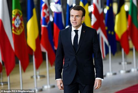 emmanuel macron yesterday news macron warns britain will be forced into backstop over