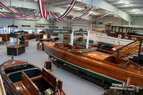 wooden boat museum new york chris craft collection picture of antique boat museum