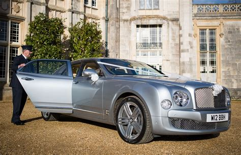 wedding bentley silver bentley bentley mulsanne wedding car in lymington