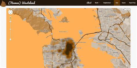 san francisco map interactive interactive map dumps san francisco s homeless