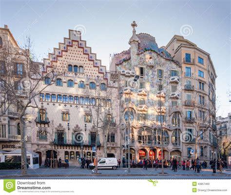 House Plan Styles casa amatller left and casa batllo in barcelona