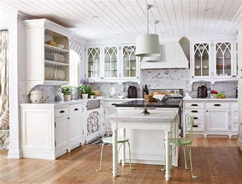 Photos Of Kitchens With Cherry Cabinets by Design Ideas For White Kitchens Traditional Home