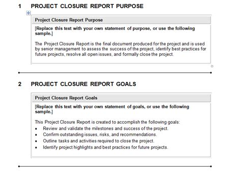 Project Closure Report Template Download For Complete Project Management Plan Excel Complete Project Closure Report Template Ppt