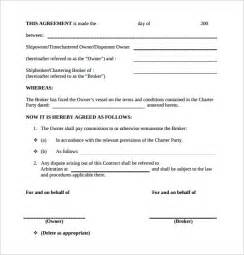 commission sales contract template commission contract template 9 free documents