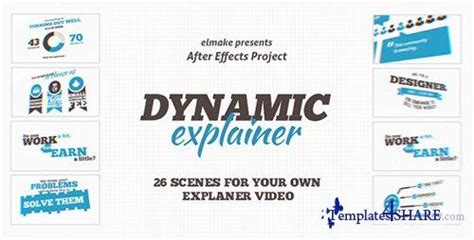explainer video templates project for after effects videohive dynamic explainer after effects project videohive