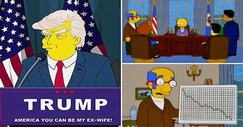 donald trump simpsons did the simpsons predict trump s presidency and national