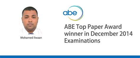 Of Bedfordshire Mba In Hospital Management by Mohamed Ilwan Wins The Abe Top Paper Award Maps College