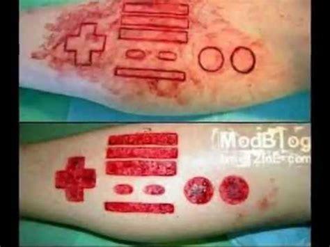 tatuajes rasgando la piel youtube