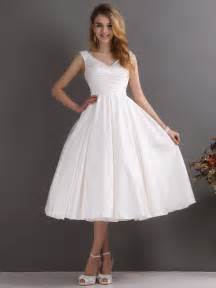 tea length wedding dress for informal weddings dresscab