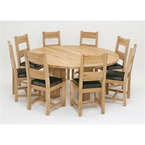 door chair oak dining room tables and chairs 12625 oak dining full circle solid oak dining table and chairs marceladick com