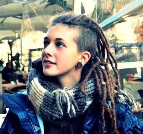 dread locks with shaved side 17 best images about undercut dreads on pinterest side