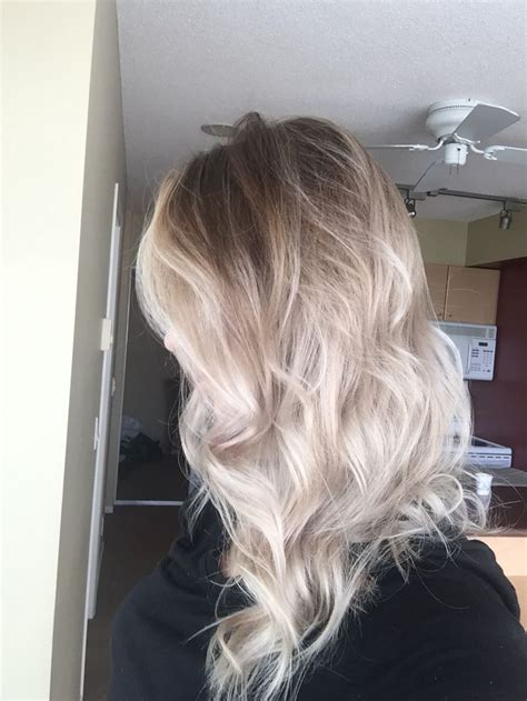 platinum blonde ombre hair 1359 best pretty hair images on pinterest hairstyles