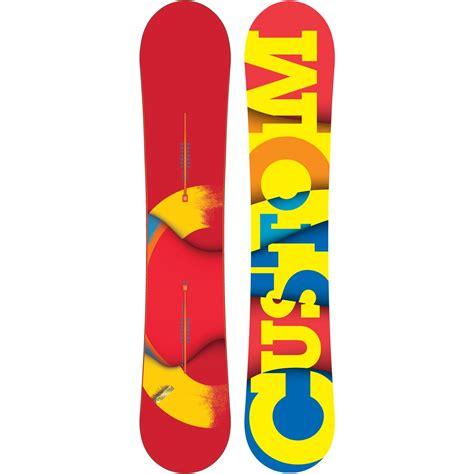 Handcrafted Snowboards - burton custom wide snowboard 2012 evo outlet