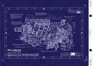 Rolls Royce Merlin Engine Blueprints Rolls Royce Merlin Warbird Engines