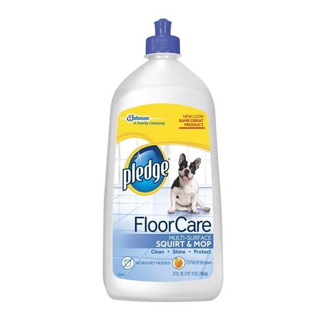pledge 27 oz citrus scent multi surface floor cleaner 6
