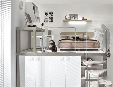 letto per fare l camerette con soppalco camerette moderne
