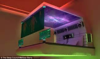 bedroom   future  cleaning mattresses  holographic lovers daily mail