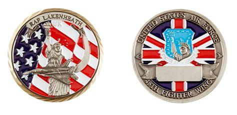 raf challenge raf lakenheath 48th fighter wing challenge coin