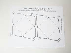 mini envelope template the kitchen diy mini envelopes free printable