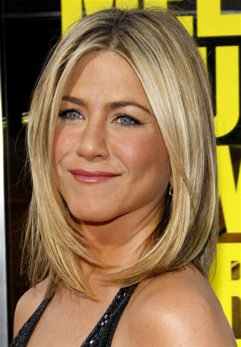 haircuts for medium length hair straight jennifer aniston medium length hairstyle straight haircut