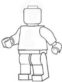 Lego Outline by Simple Black And White Clipart Lego Minifigures Outline Silhouette Coloring Book Worksheet For